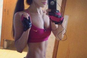 Así ha cambiado Jen Selter y su famoso derrière: Esta es una de sus primeras imágenes que compartió en Instagram, hace 145 semanas Foto:Vía instagram.com/jenselter. Imagen Por:
