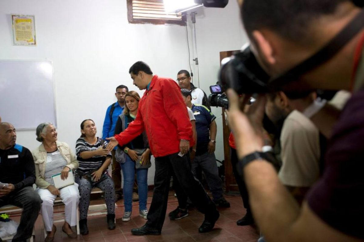 Así ha transcurrido la jornada electoral en Venezuela Foto:AP. Imagen Por: