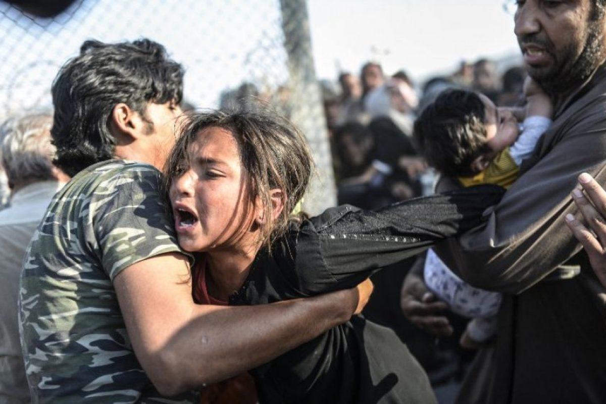 """El informe """"Alienación y Violencia: El impacto de la crisis en Siria 2014"""" de Naciones Unidas mostró el drástico cambio: Foto:AFP. Imagen Por:"""