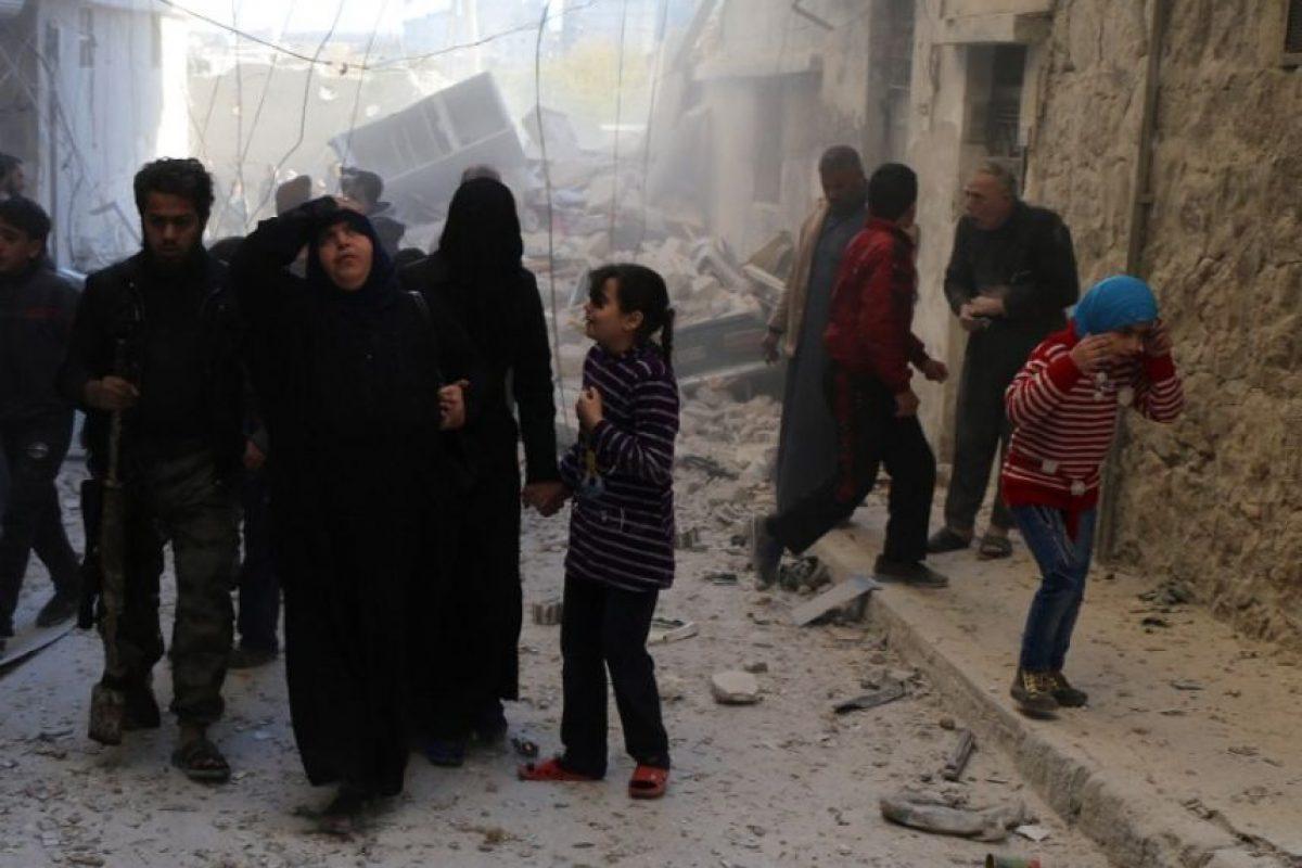 La gran mayoría huyó como refugiados a Europa, principalmente. Foto:AFP. Imagen Por: