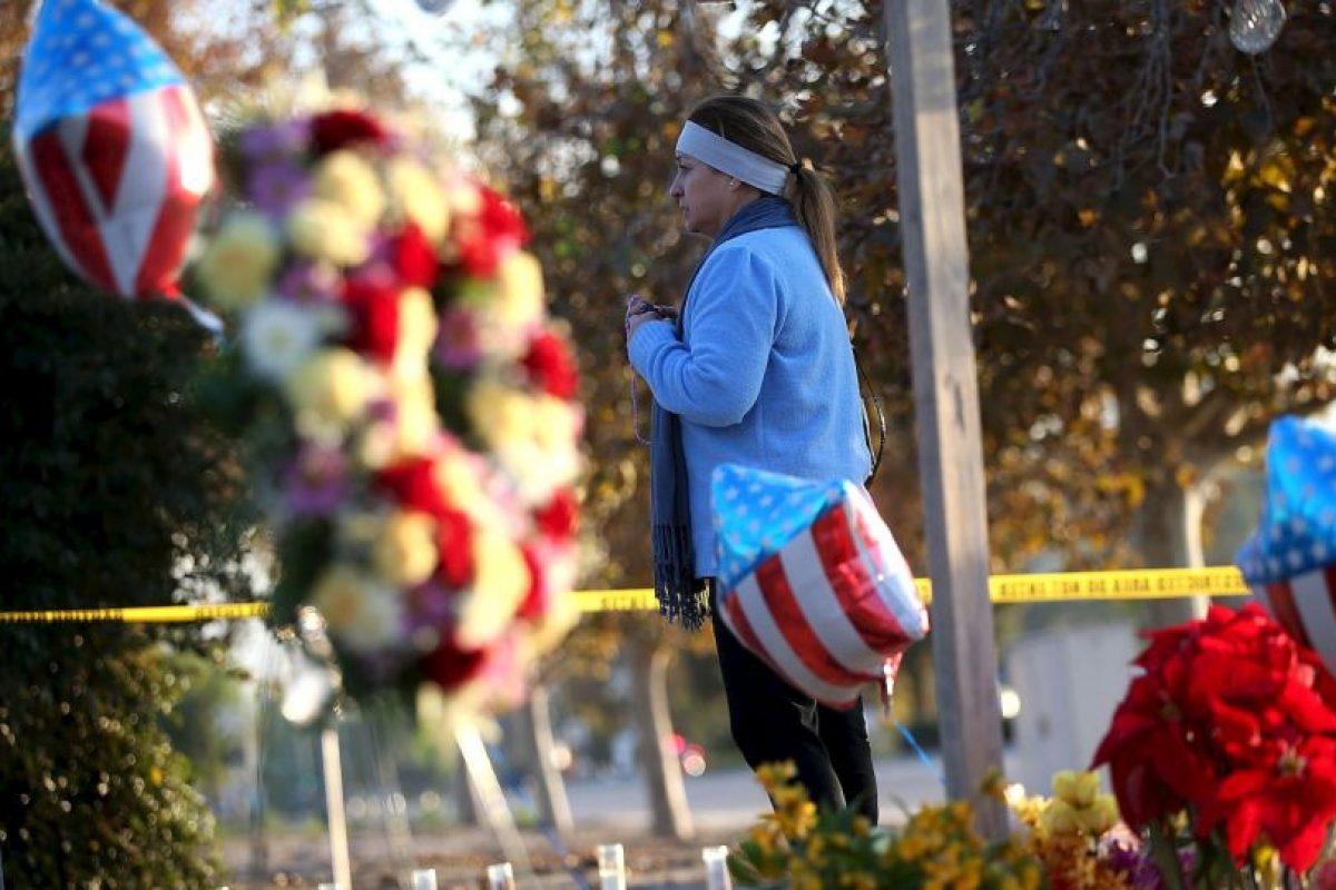 La cual antes de realizar el atentado dejaron con su abuela paterna. Foto:AFP. Imagen Por: