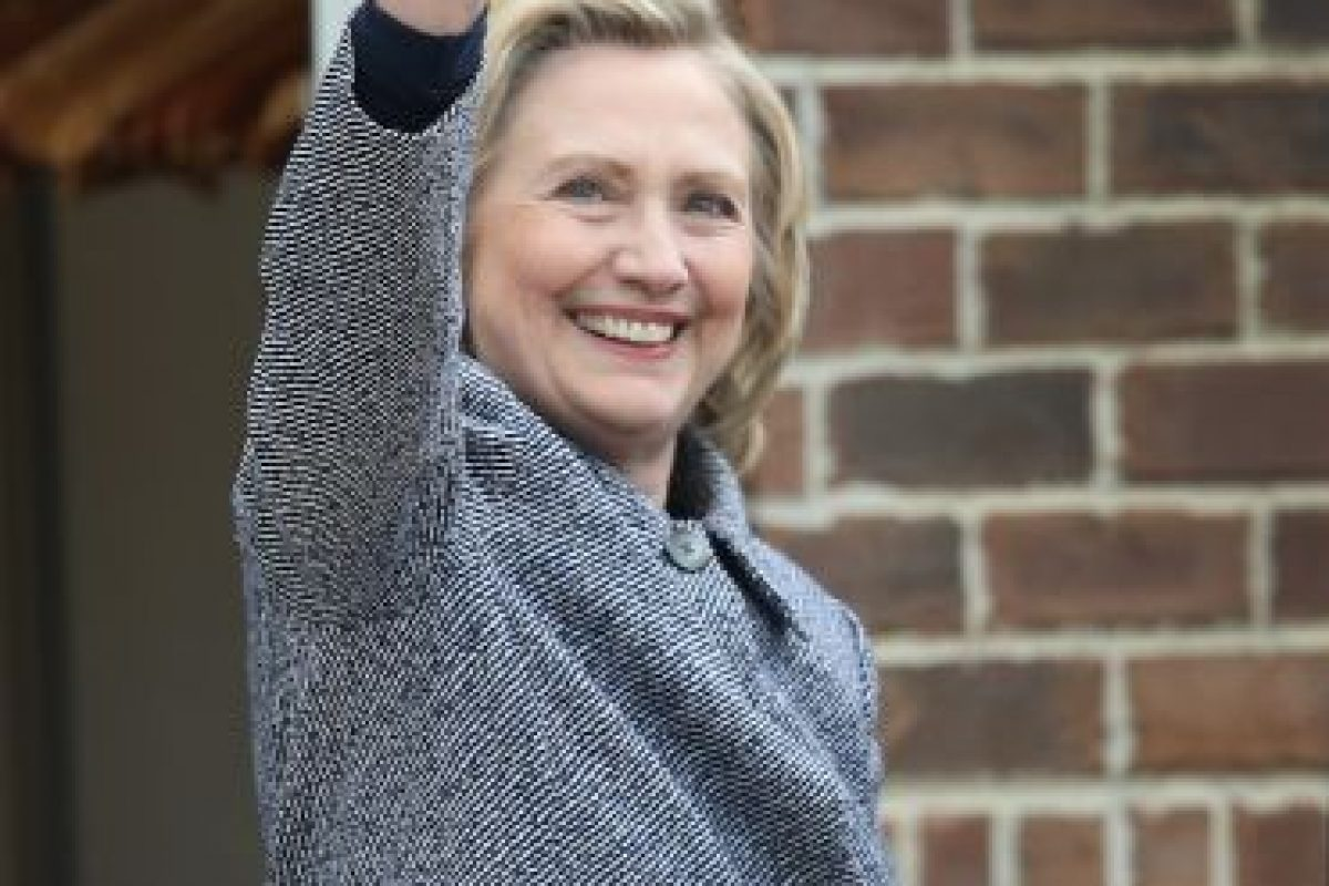 Clinton es percibida por el 60% de los votantes estadounidenses como poco fiable. Foto:Getty Images. Imagen Por: