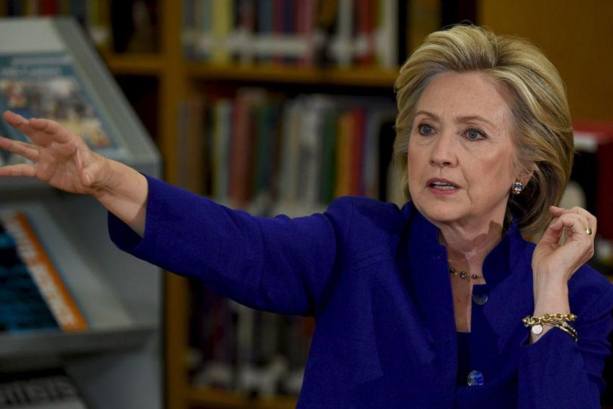 En la encuesta de la Universidad de Quinnipiac Hillary Clinton obtuvo la ventaja con un 60%. Foto:Getty Images. Imagen Por: