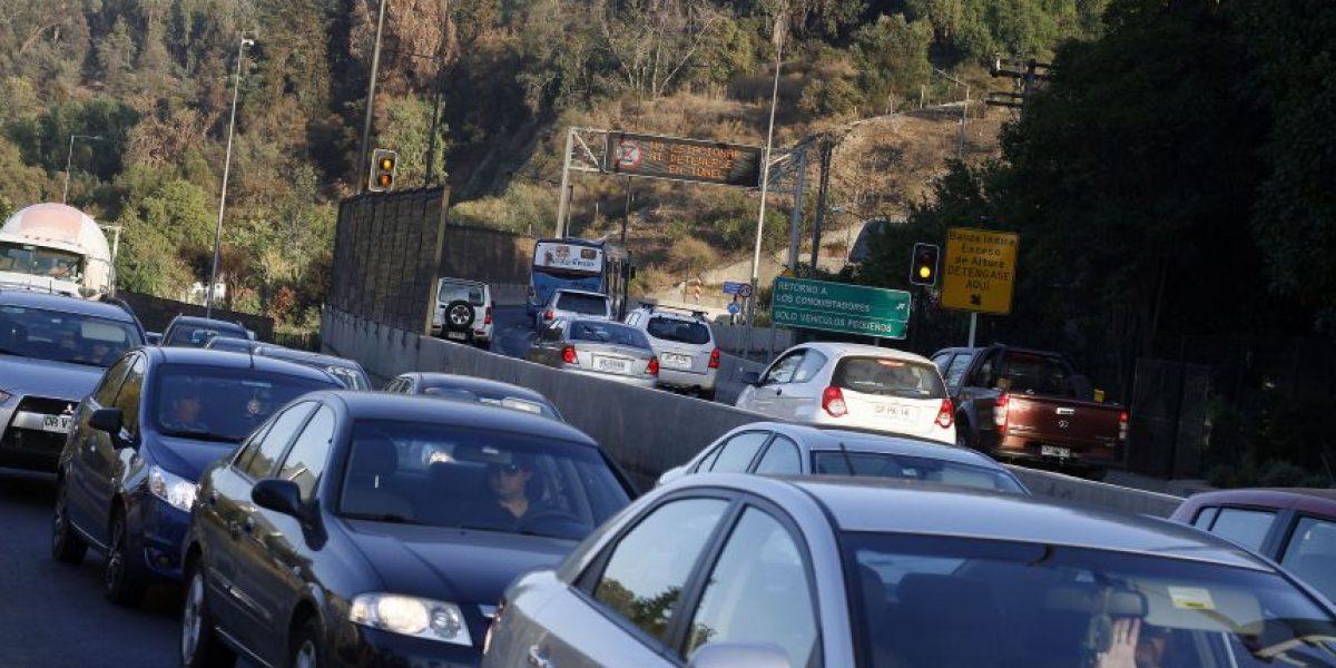 Procedimiento policial obliga a cerrar un acceso del Túnel San Cristóbal