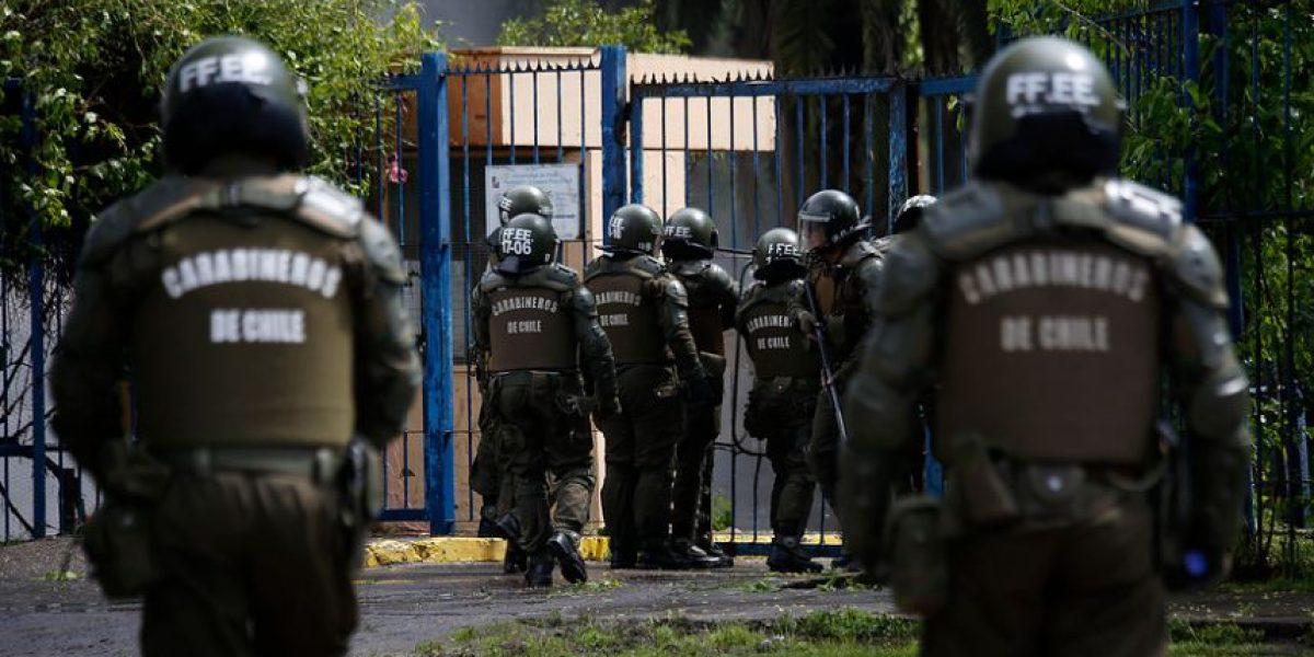 Arresto domiciliario total para mayor de FFEE detenido ebrio en incidente