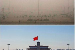 La plaza de Tiananmen, uno de los lugares históricos de la zona Foto:Getty Images. Imagen Por: