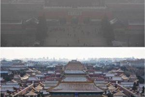 Las imágenes tienen una diferencia de 24 horas Foto:Getty Images. Imagen Por: