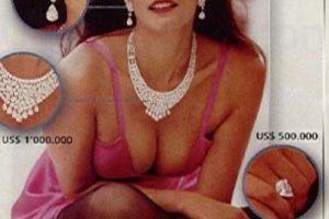 """Sandra Murcia, para los años 90, fue considerada como la """"Cindy Crawford colombiana"""". En 1994 se casó con Efraín Hernández, reconocido capo del Cartel del Norte del Valle. Se divorció, pues el tren de vida de Sandra era elevado. Foto:vía Colarte. Imagen Por:"""