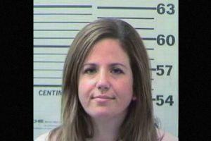 Christina Busby. De acuerdo a las investigaciones preliminares, al menos tuvo relaciones en dos ocasiones. Foto:Mobile County Sheriff's Office. Imagen Por: