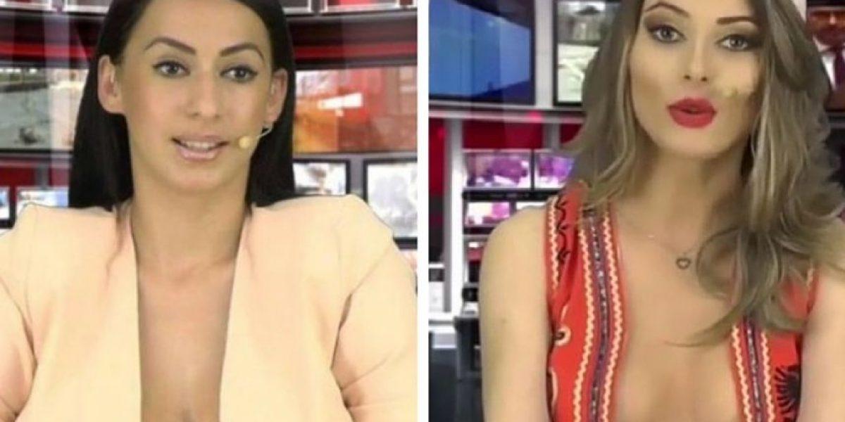 Ella es el remplazo de presentadora despedida por posar en Playboy
