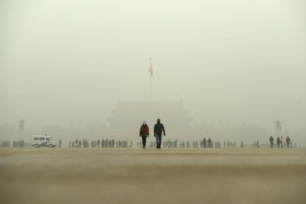 Así lucen hoy zonas como la Plaza de Tiananmén Foto:AFP. Imagen Por: