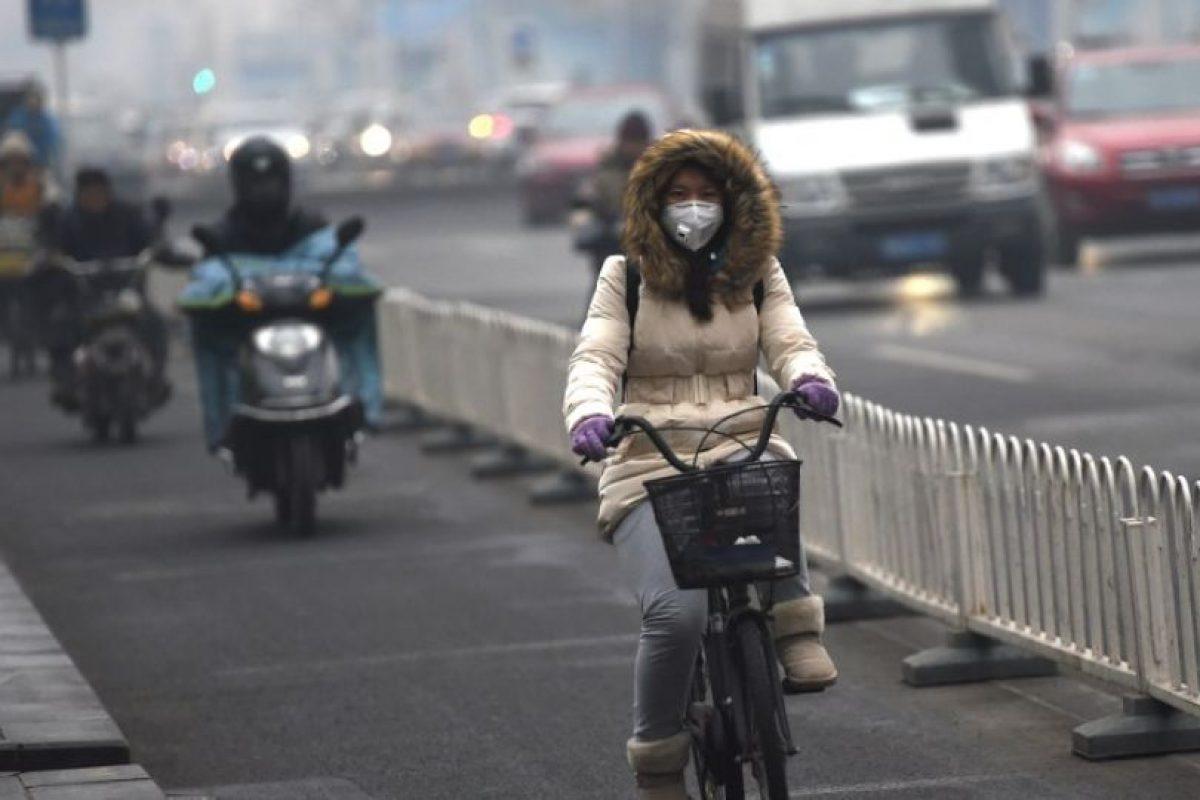 Otra de las medidas tomadas fue suspender la circulación de la mitad de los vehículos Foto:AFP. Imagen Por: