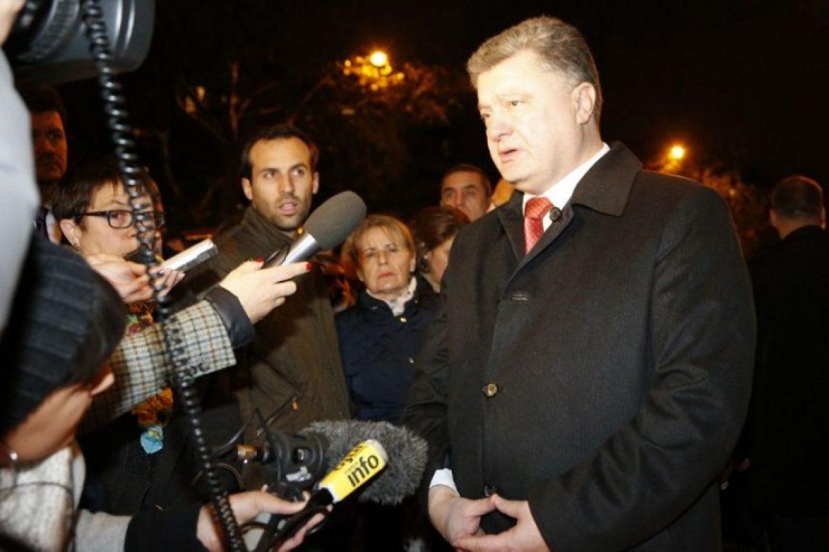 Petro Poroshenko, presidente de Ucrania Foto:AFP. Imagen Por: