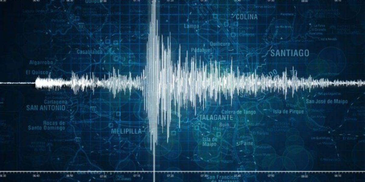 Fuerte sismo despierta a los habitantes de la zona central del país