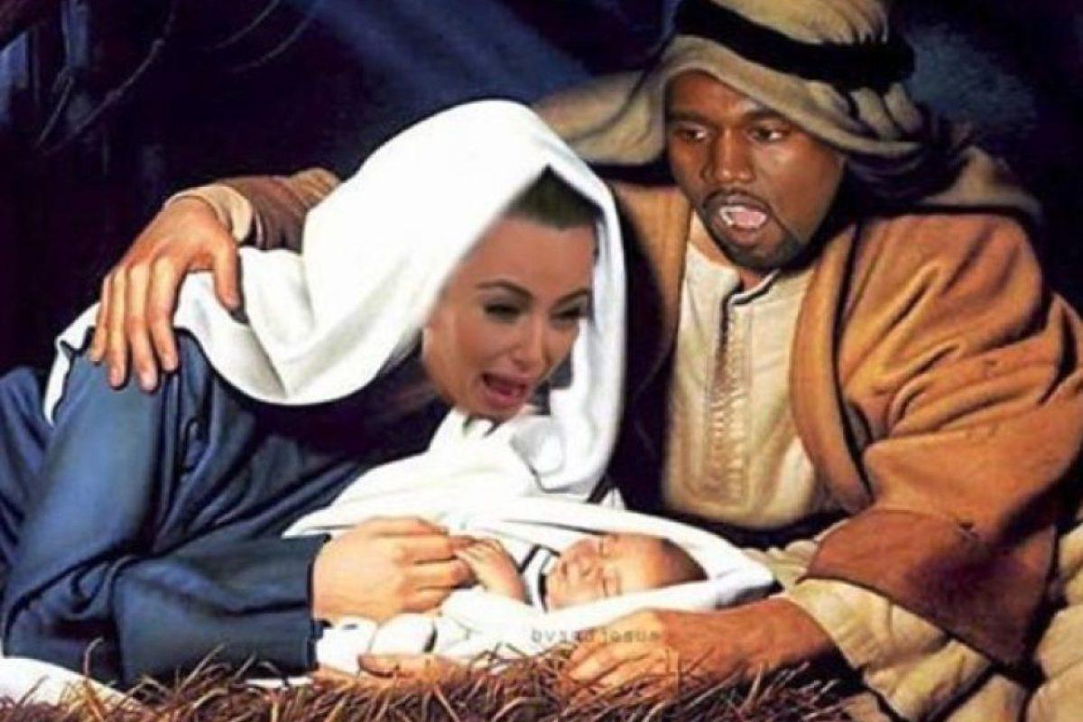 Otros no evitaron comparar a la familia con santos de la iglesia. Foto:vía twitter.com. Imagen Por: