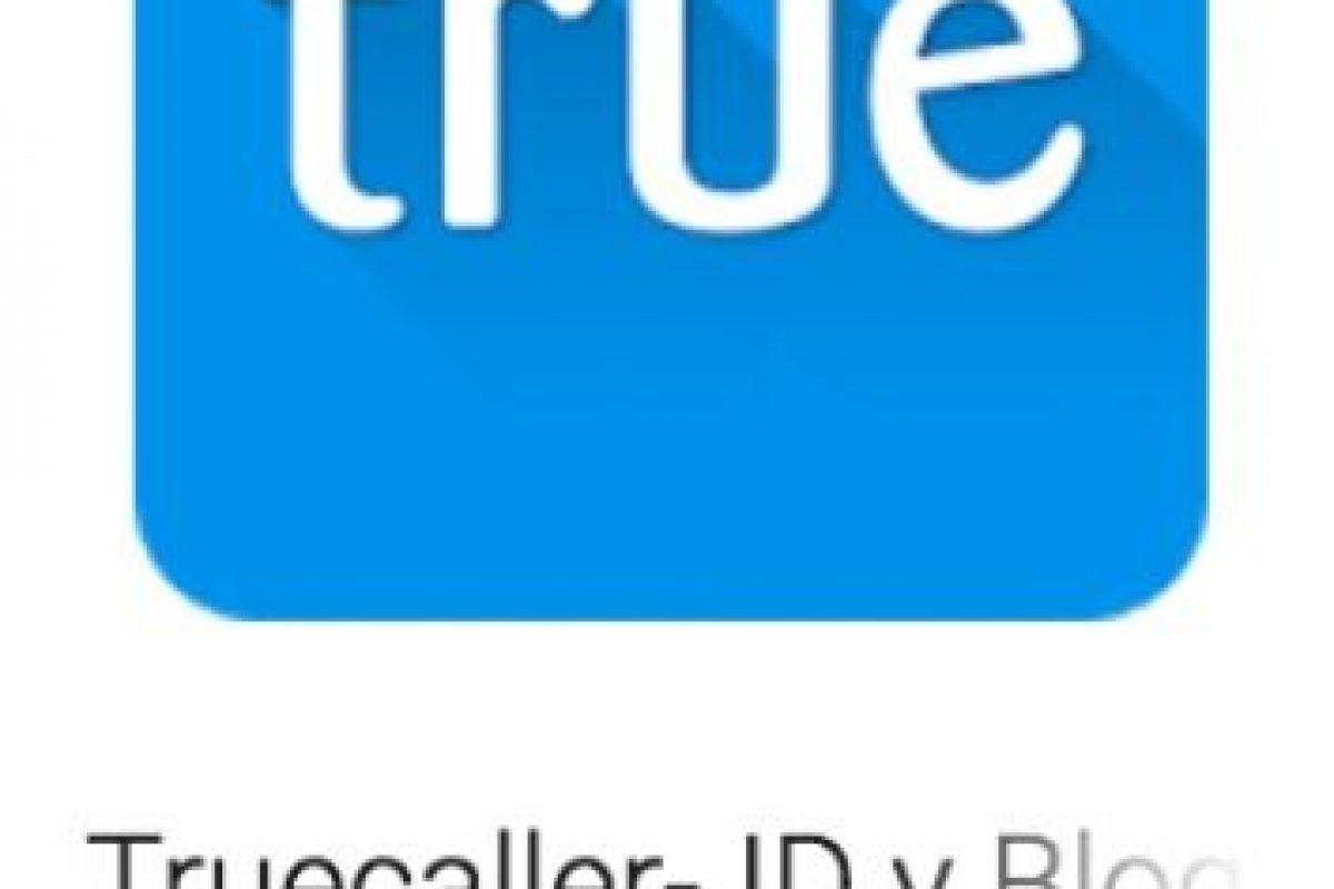 44- Truecaller- ID y Bloqueo. Les permite buscar más allá de sus contactos existentes, identificando llamadas desconocidas, bloqueando llamadas no deseadas y realizando sugerencias sobre sus contactos con base a tiempo y localización. Foto:vía Google. Imagen Por: