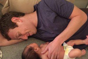 Mark Zuckerberg con su hija Max. Foto:facebook.com/zuck. Imagen Por: