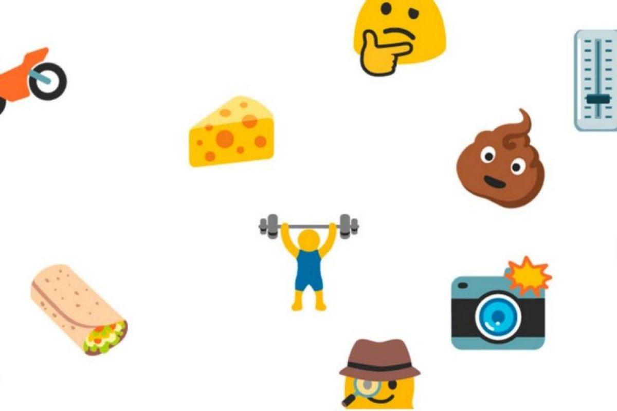 Los nuevos emojis en Android. Foto:vía emojipedia.org. Imagen Por: