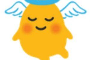 Angelito. Foto:vía emojipedia.org. Imagen Por: