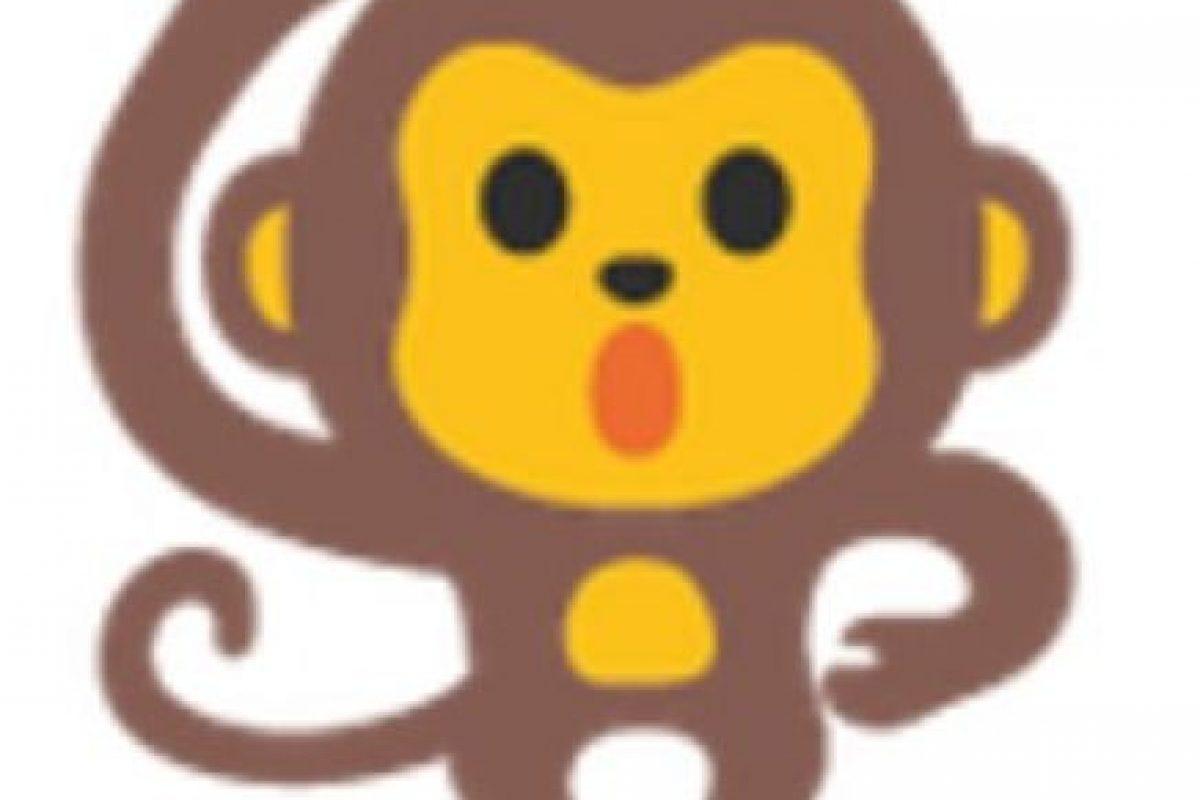 Mono bailando. Foto:vía emojipedia.org. Imagen Por: