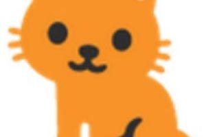Gato. Foto:vía emojipedia.org. Imagen Por: