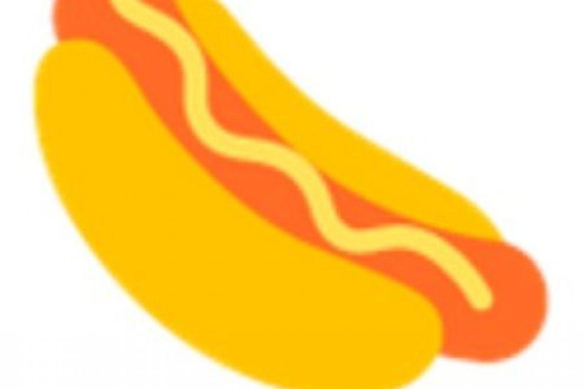 Hot-dog. Foto:vía emojipedia.org. Imagen Por: