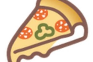 Pizza. Foto:vía emojipedia.org. Imagen Por:
