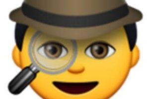 Detective. Foto:vía emojipedia.org. Imagen Por: