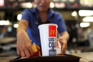 3. Un menú de McDonalds Foto:Getty Images. Imagen Por: