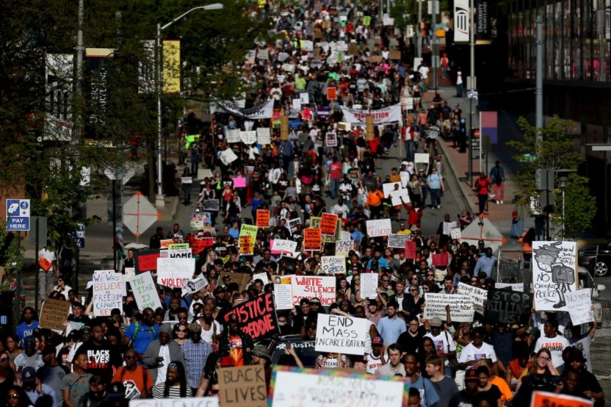 Activistas del movimiento Black Lives Matter. Foto: Getty Images. Imagen Por: