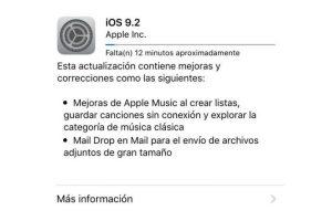 iOs 9.2 ya está disponible para dispositivos móviles de Apple. Foto:Apple. Imagen Por: