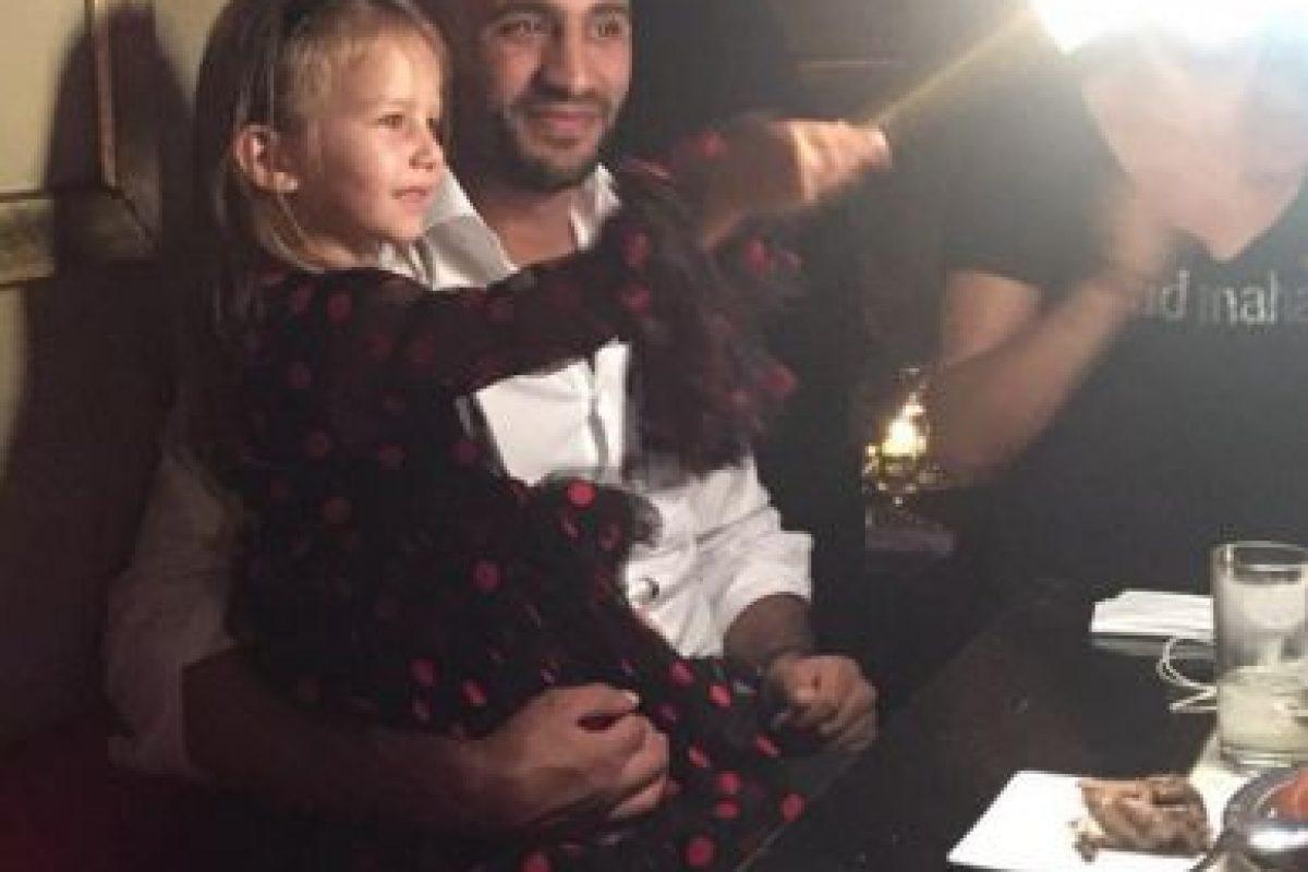 Hari tiene una hija, llamada Amber, que es producto de una relación anterior. Foto:Vía instagram.com/badrhariofficial. Imagen Por: