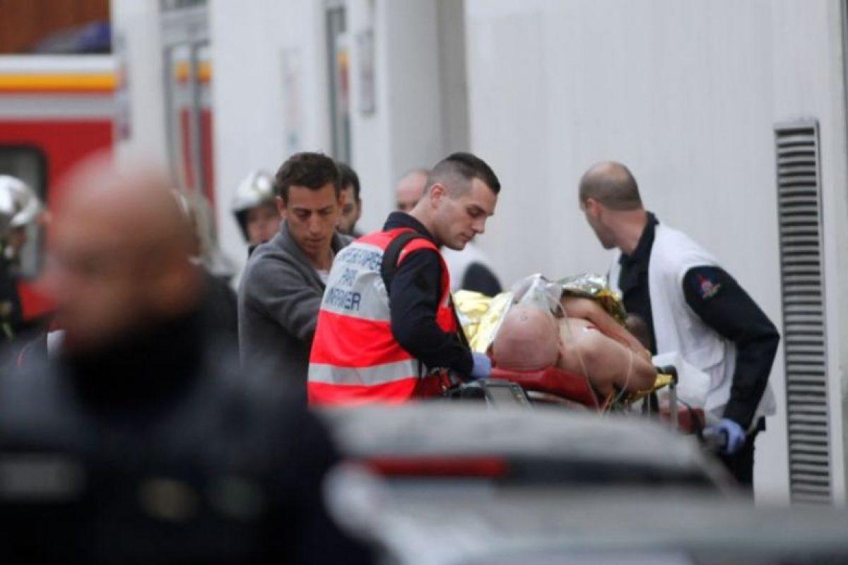 7 de enero- Atentado a la revista Charlie Hebdo en París, Francia Foto:AP. Imagen Por: