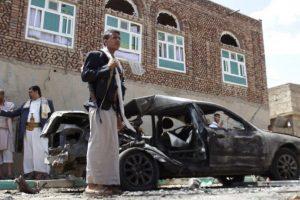 20 de marzo- Se registraron cuatro bombardeos en mezquitas de Yemen. Foto:AP. Imagen Por: