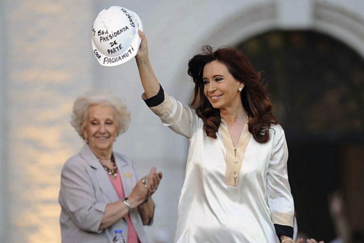 Por su parte, Cristina Fernández de Kirchner también reconoció la derrota Foto:AFP. Imagen Por: