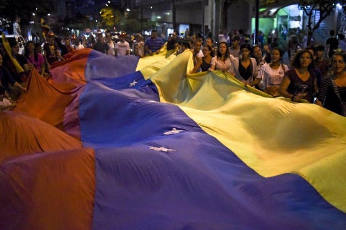 """Además, hizo un llamado al chavismo a """"reconstruir una nueva mayoría revolucionaria"""" Foto:AFP. Imagen Por:"""