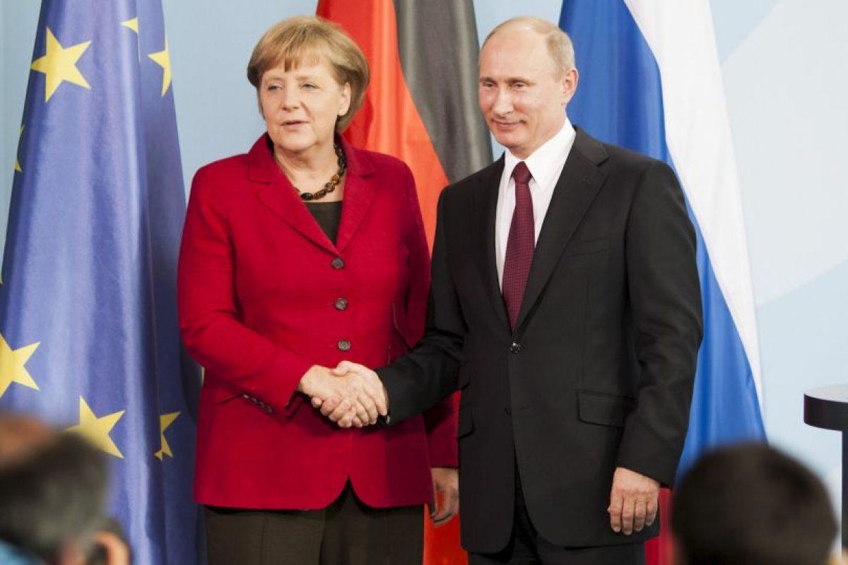 Además de las negociaciones con el presidente Vladimir Putin por el conflicto con Ucrania Foto:AFP. Imagen Por: