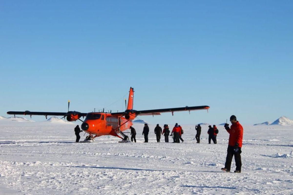 Para llegar a la zona se requiere usar una avioneta Twin Otter Foto:Jaime Liencura / Publimetro. Imagen Por: