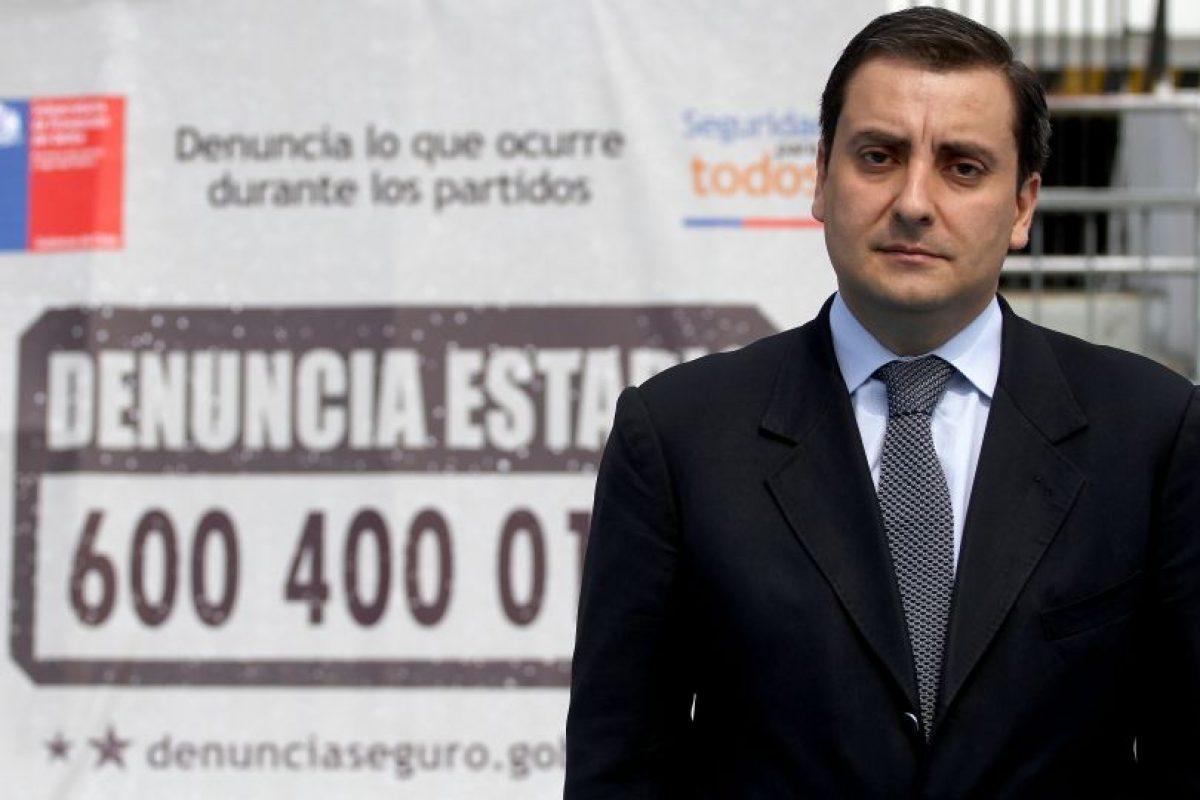 """José Roa, director del plan """"Estadio Seguro"""". Foto:Archivo Agencia Uno. Imagen Por:"""
