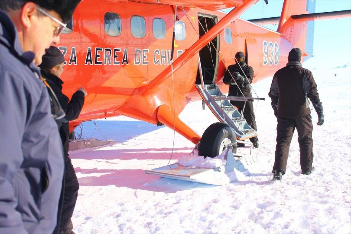 Increíblemente, las avionetas usan patines Foto:Jaime Liencura / Publimetro. Imagen Por: