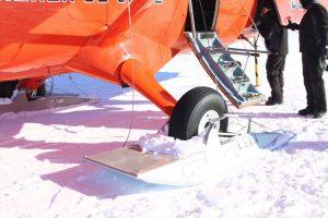 Usan patines para poder aterrizar Foto:Jaime Liencura / Publimetro. Imagen Por: