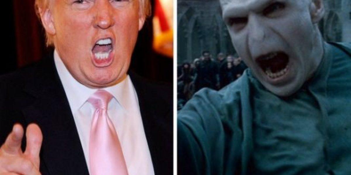 Escritora de Harry Potter dice que Trump es peor que Voldemort