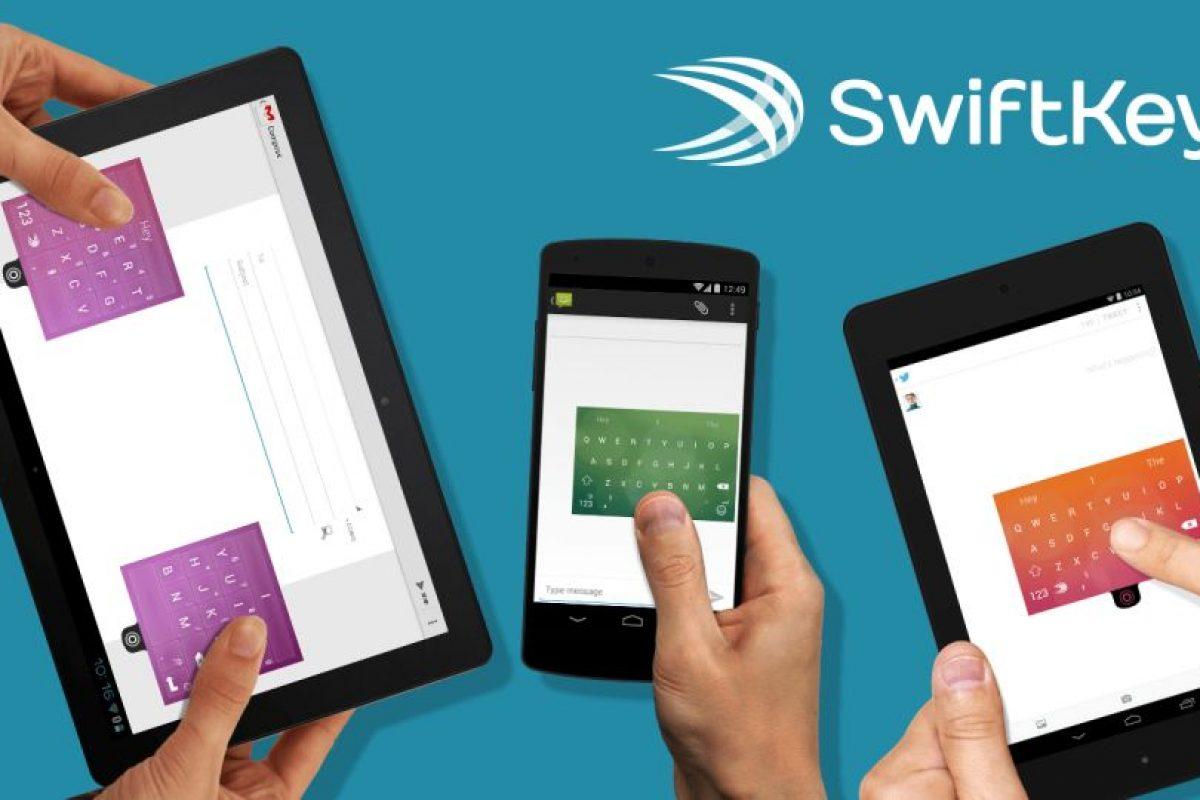 12.- SwiftKey Keyboard es una aplicación de teclado galardonada para Android que ofrece la mejor predicción de la siguiente palabra, autocorrección inteligente, compatibilidad con más de 800 emoticonos, predicción de emoticonos y mucho más. Foto:Google Play. Imagen Por: