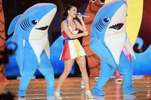 ¿Recuerdan a los tiburones de Katy Perry en el Super Bowl? Foto:Getty Images. Imagen Por: