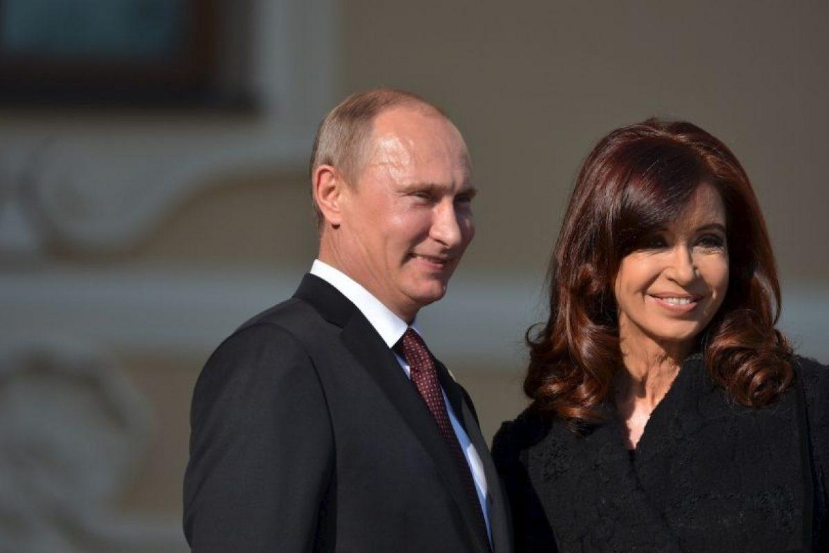 2013, con Vladimir Putin, presidente de Rusia Foto:Getty Images. Imagen Por: