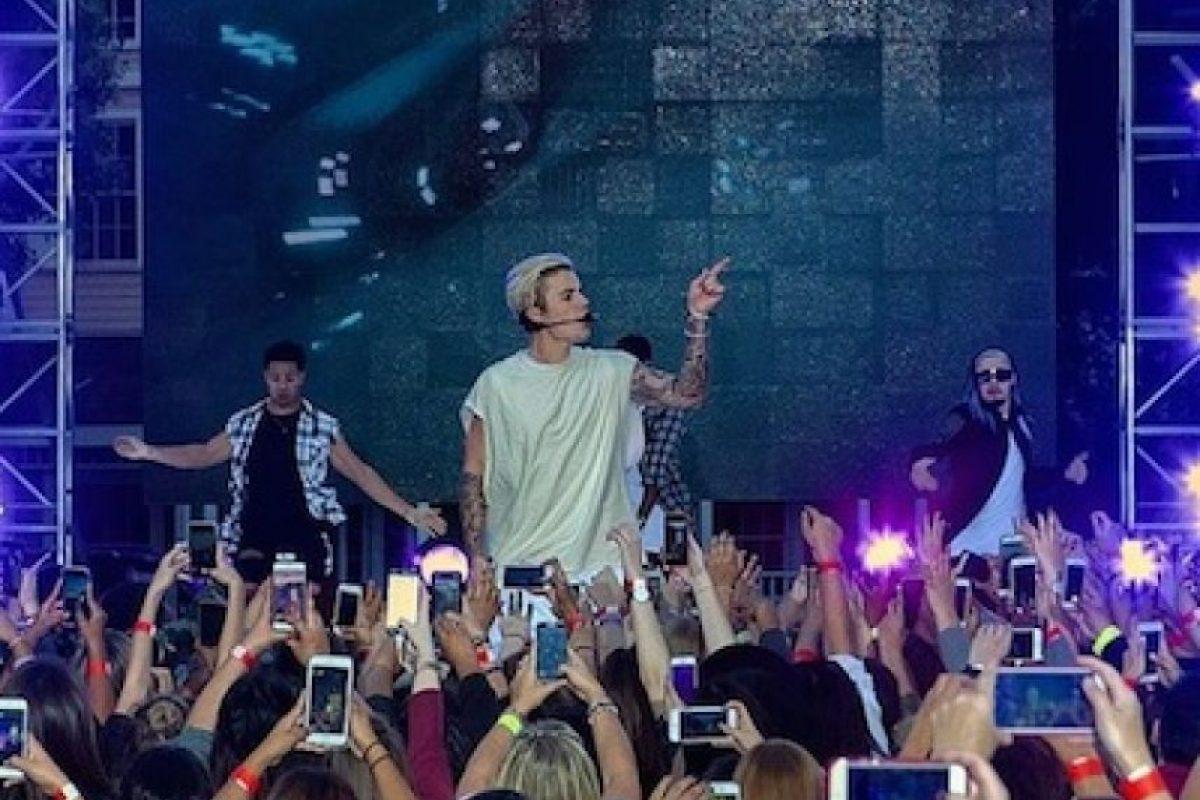 """Justin Bieber no siempre ha sido el """"chico malo""""… Foto:Getty Images. Imagen Por:"""
