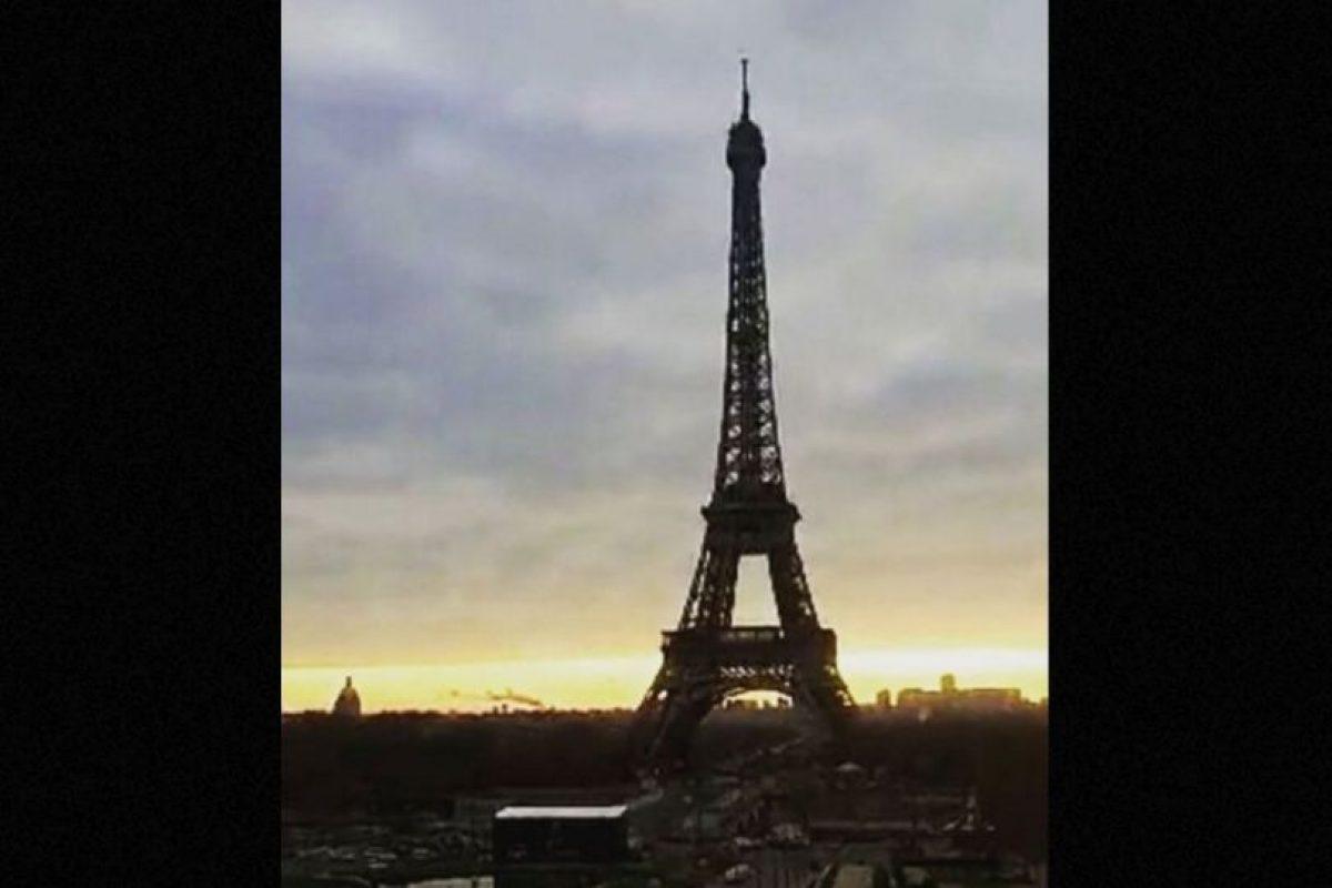 Torre Eiffel en París, Francia. Foto:vía instagram.com/davidcao13. Imagen Por: