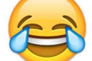 1- Cara llorando de alegría. Foto:vía emojipedia.org. Imagen Por: