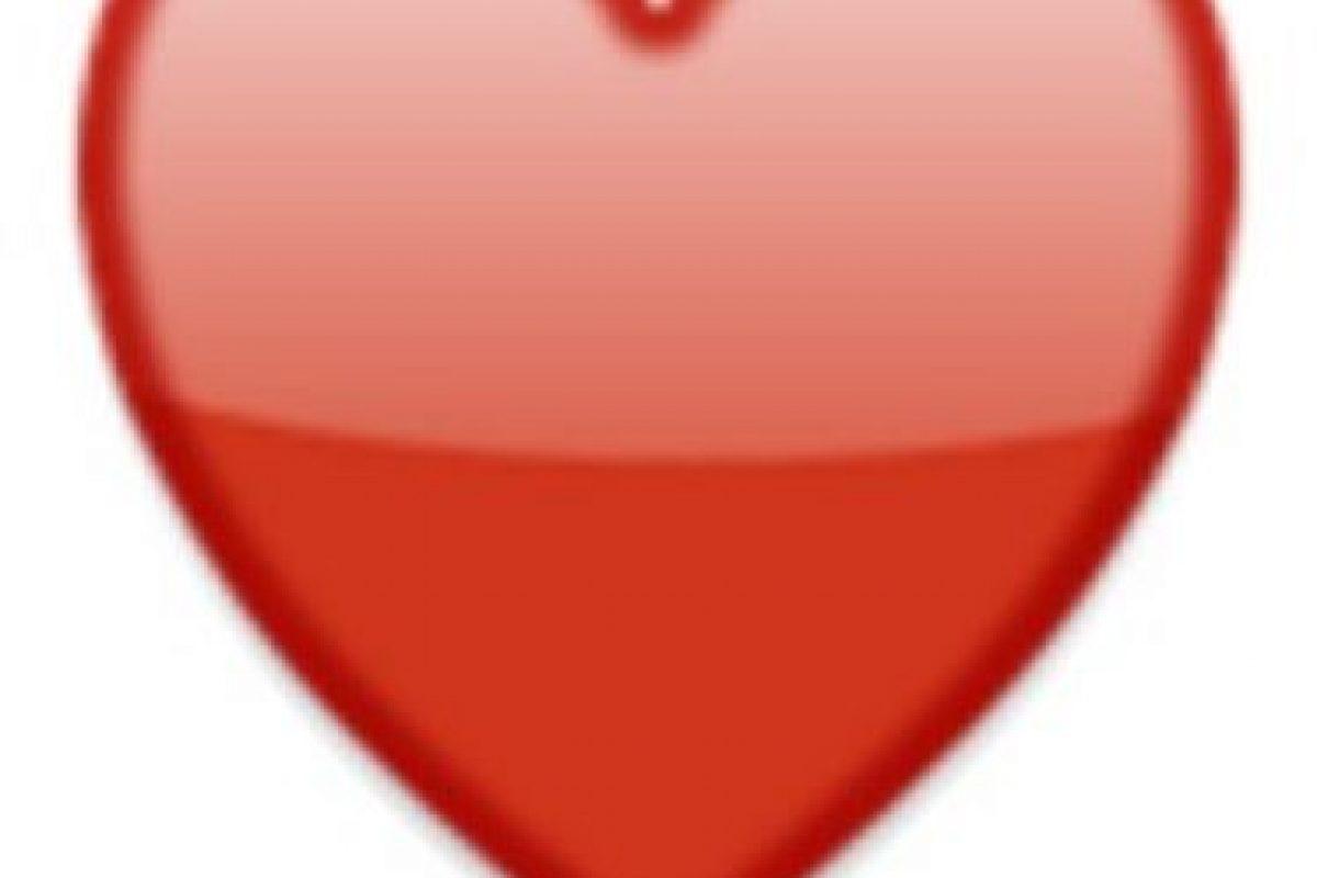 5- Corazón rojo. Foto:vía emojipedia.org. Imagen Por: