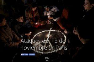 2- Ataques terroristas del 13 de noviembre en París. Foto:vía Facebook.com. Imagen Por: